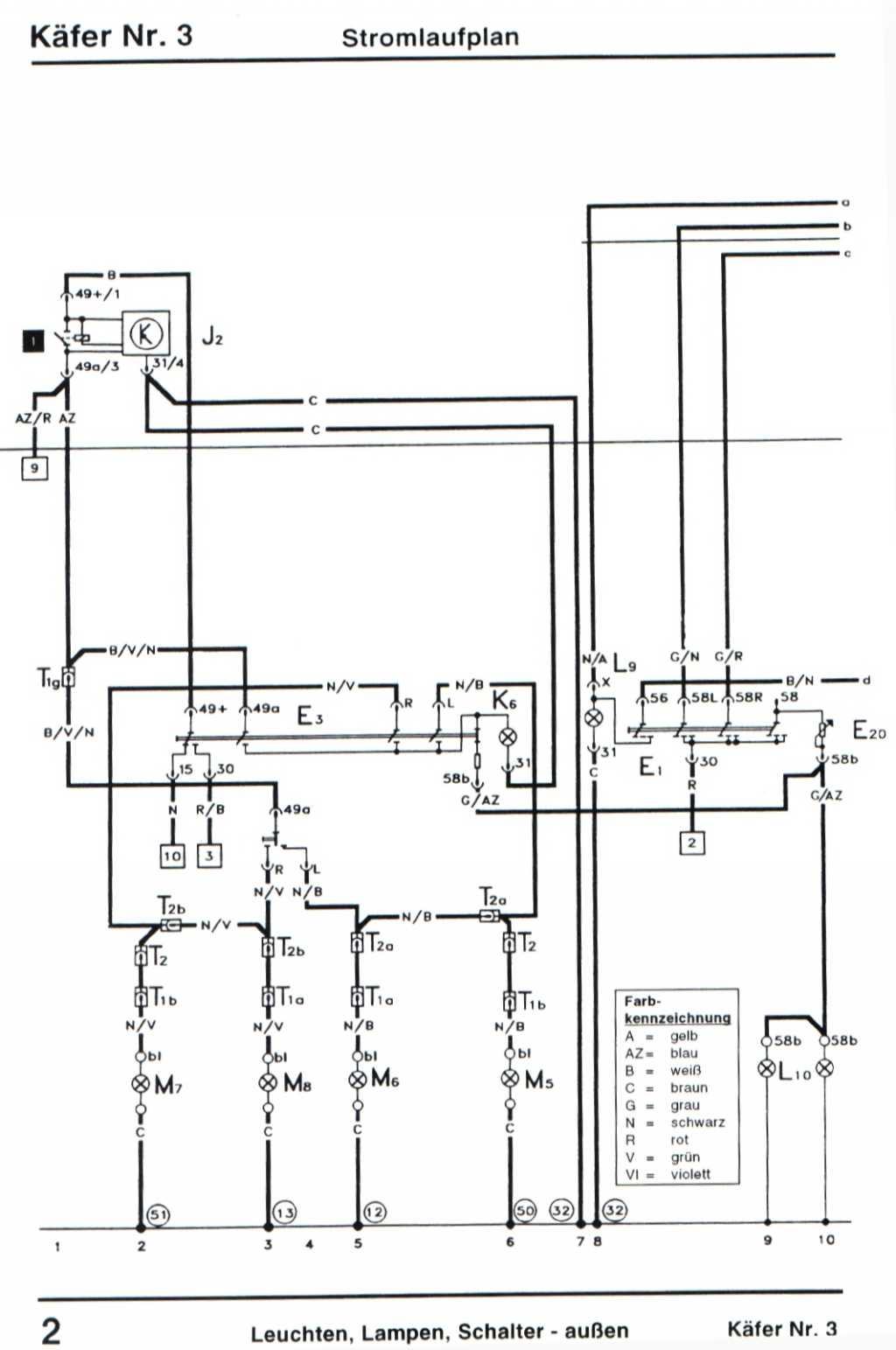 kein abblend oder fernlicht bei 1983er mexico k fer elektrik